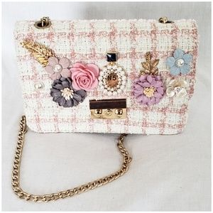 Handbags - Flower Crossbody